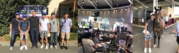 2018年2月にオーストラリアの名門厩舎クリスウォーラー厩舎の見学や現地セールに参加しました。