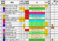 重賞レース過去5年ブラッドバイアス/セントウルS&京成杯AH&紫苑S