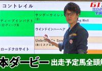 コントレイル、サリオスなど日本ダービー出走予定馬全頭診断!/『亀谷敬正の血統の教室』