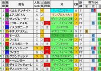重賞レース過去5年ブラッドバイアス/マイルCS&東京スポーツ杯2歳