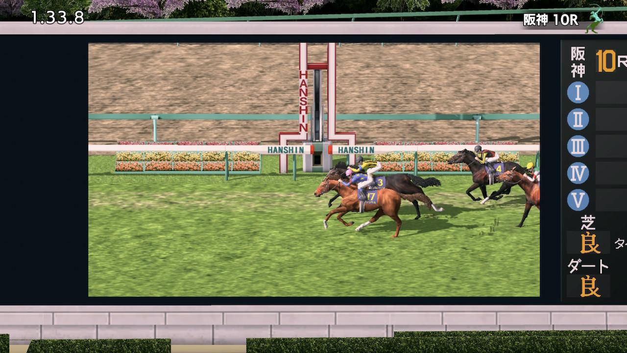 道中逃げから直線でさっさと抜け出し、人気馬たちの猛追をハナ差退けた。