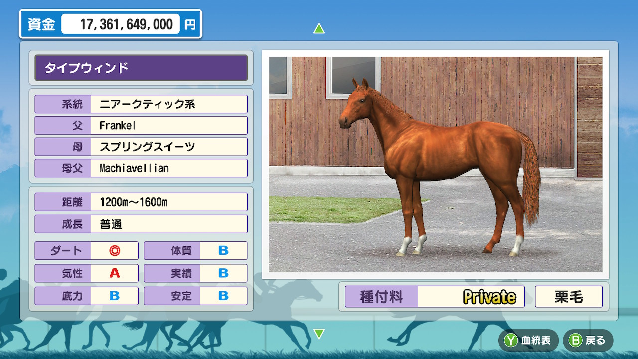 とりあえず安田記念を勝って種牡馬入り。