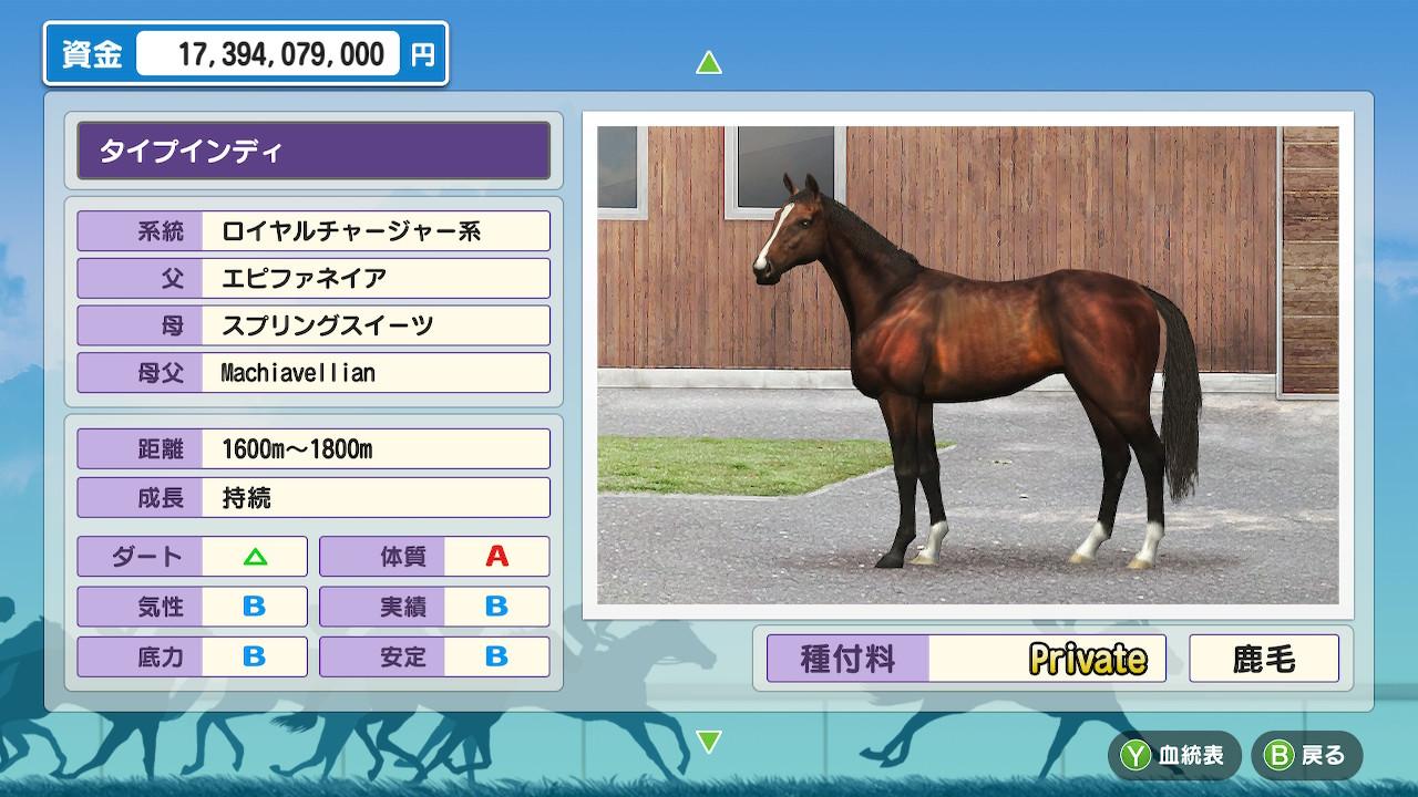 その中で唯一GⅠを勝てたのがこの馬です。