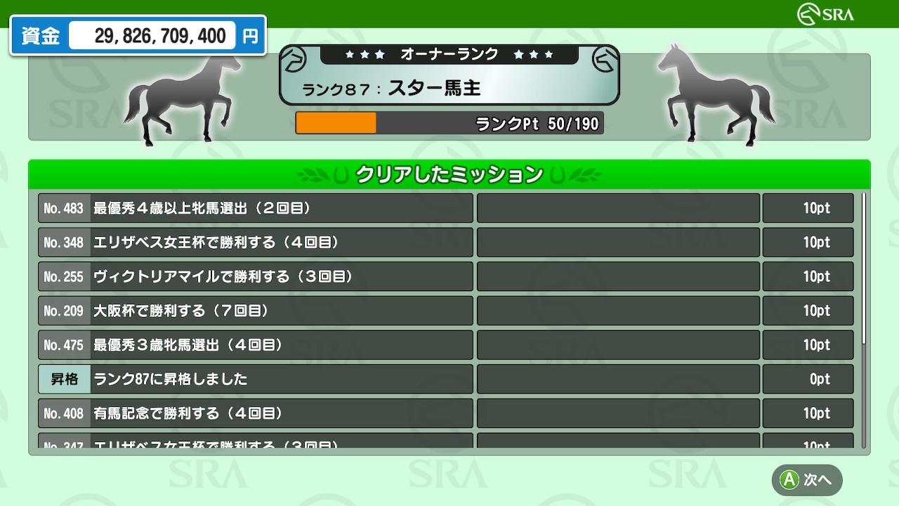 牝馬をあまり育てていなかったため、牝馬GⅠの勝利回数を少し埋めることができました。