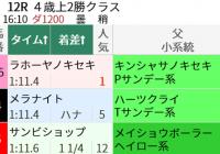 展開とローテで予想!中京ダ1200m/今週末(5/15~5/16)の見どころ