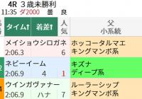 ホッコータルマエ産駒の狙い方/今週末(7/3~7/4)の見どころ
