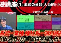 先週(8/28~8/29)の買いパターン&消しパターン該当馬の結果/ YouTubeチャンネル『亀谷敬正の競馬血統辞典』